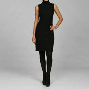 Calvin Klein Sleeveless Turtleneck Sweater Dress S